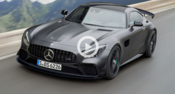 Video: The future Mercedes-AMG GT Black Series, spied on Nurburgring