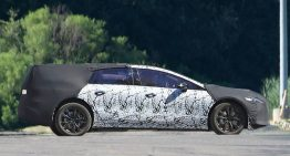 Mercedes-Benz EQS all-electric luxury sedan revealed in first ever spy pics