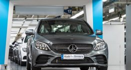 The production of the new C-Class starts in Bremen