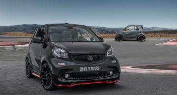 Smart Brabus 125R: Final sport version before electric reinvention