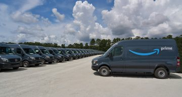 Amazon becomes the world's largest customer for Mercedes-Benz Sprinter