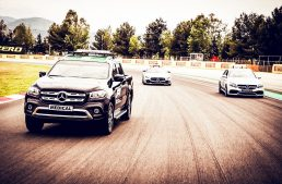 Mercedes-Benz X-Class joins the intervention squad in Formula 1