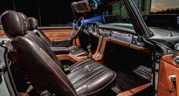 Mercedes 230 SL Pagoda By Carlex is timeless luxury