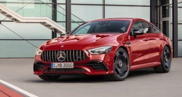 Prices of the new Mercedes-AMG GT 4-door Coupé – The sports sedan starts below €100,000