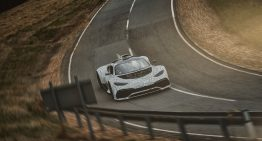 The Mercedes-AMG Project ONE is already out testing