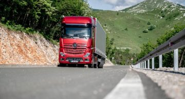 A woman leads the heavy duty division, Mercedes-Benz Trucks