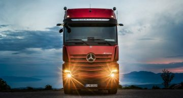 Mercedes-Benz Actros – First time driving the world's most modern truck
