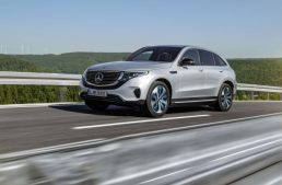 Mercedes-Benz EQC, set to enter series production next spring