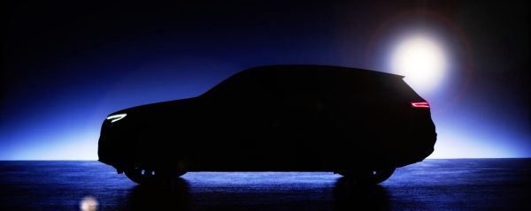Mercedes-Benz EQC electric SUV to be revealed tomorrow. Latest teaser