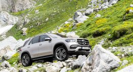 Demonstration of strength – New Mercedes-Benz GLE shows off its E-Active Body Control