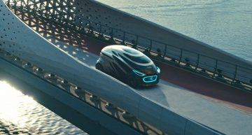 Vision URBANETIC – The fully-automated transportation that changes the future