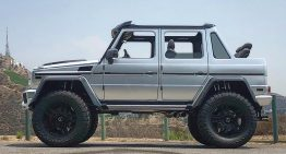Cabrio G-Class Monster: A very special Mercedes-Benz G 500 4×4² Landaulet