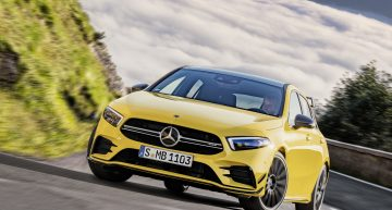 The new Mercedes-AMG A 35 4MATIC is now available for sale