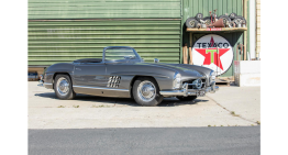 The first Mercedes 300 SL Roadster exported to the U.S. changed hands for $1,5m