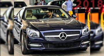 Barcelona's star Gerard Pique fills his garage with Mercedes-Benz models