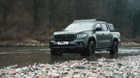 Gruma-modified Mercedes-Benz X-Class is a hunter (1)