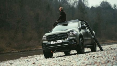 Gruma-modified Mercedes-Benz X-Class is a hunter