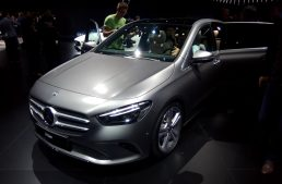Live from Paris 2018 – The new Mercedes-Benz B-Class