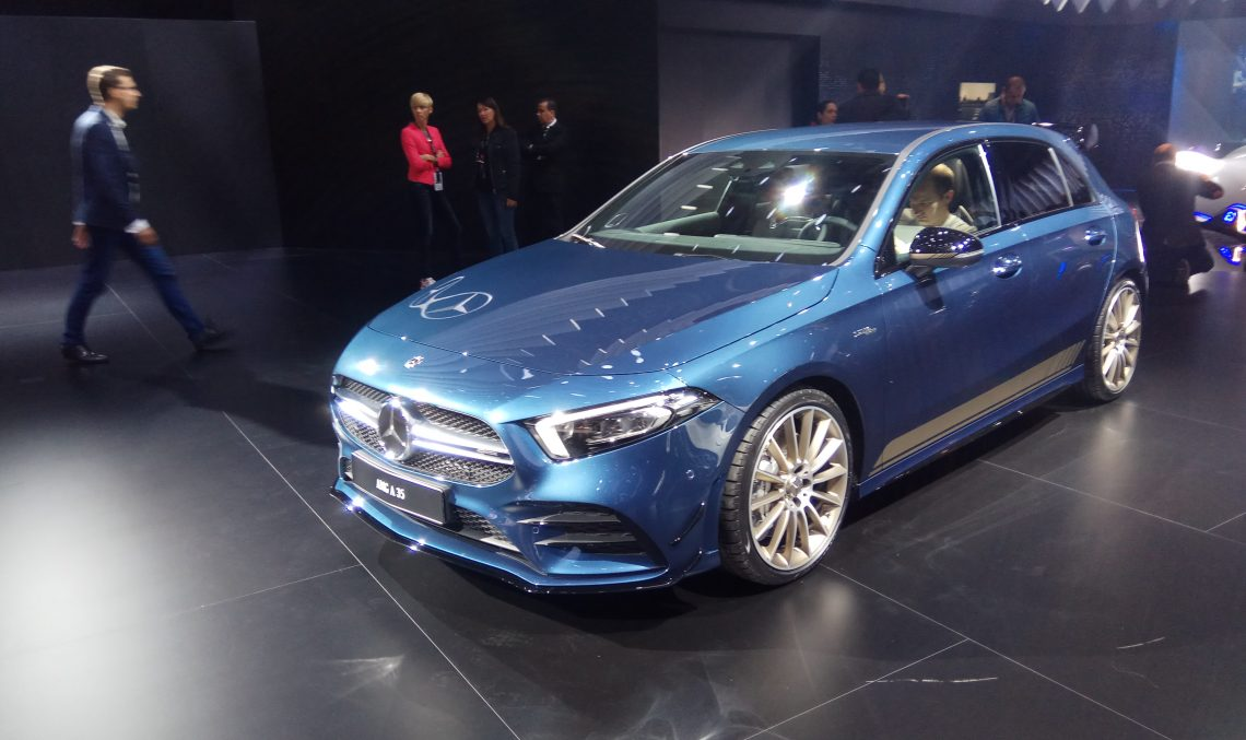 Live from Paris 2018 – The new Mercedes-AMG A 35 4MATIC