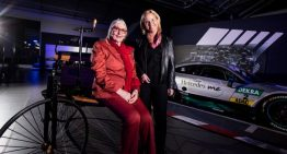 Great-granddaughter of Carl Benz turns 75 years old. Birthday at the museum