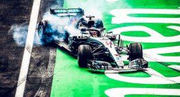 Mercedes driver Lewis Hamilton is the Formula 1 World Champion