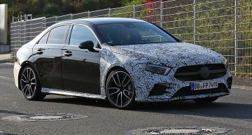 New Mercedes-AMG versions: A 35 sedan, GLC 63 facelift and C 53 by Auto Bild