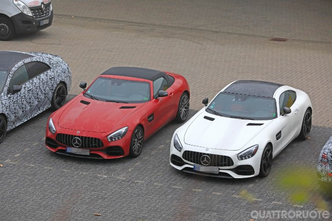 What is Mercedes up to with its AMG GT models?