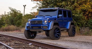 The mind-blower – Mercedes-Benz G550 4×4² floats on 24-inch wheels