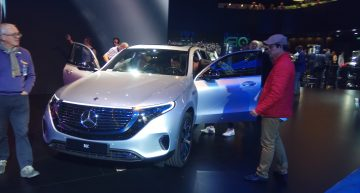 Live from Paris – The new Mercedes-Benz EQC