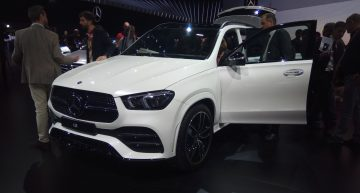 Live from Paris 2018 – The new Mercedes-Benz GLE