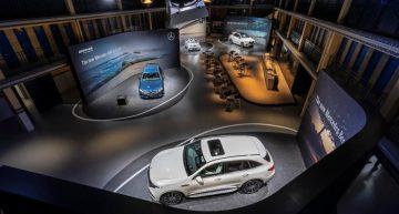 "LIVE from Paris: Mercedes-Benz GLE celebrates world premiere at ""Meet Mercedes"" event"