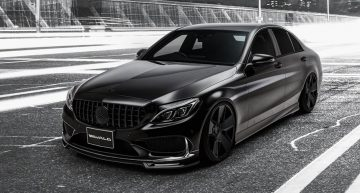 W205 Mercedes-Benz C-Class ready for Halloween by Wald International