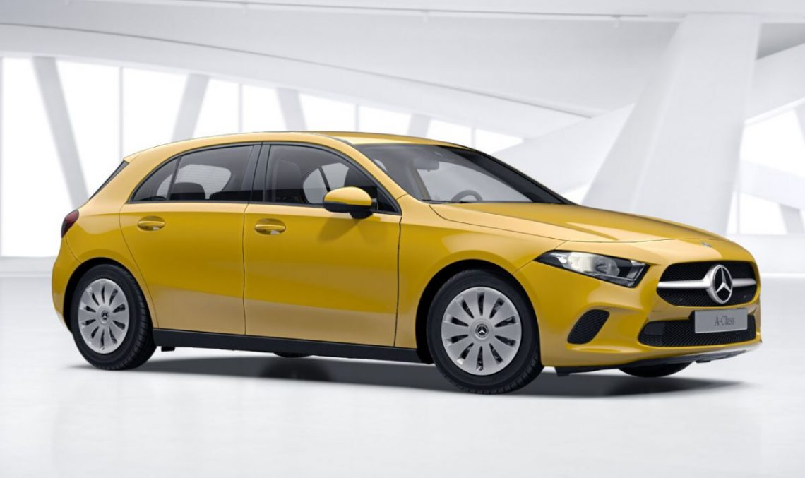 Back to the roots: This is how the basic Mercedes A-Class looks like