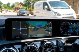 Hello, Mercedes! Can I park here? MBUX infotainment system recognizes dangerous areas