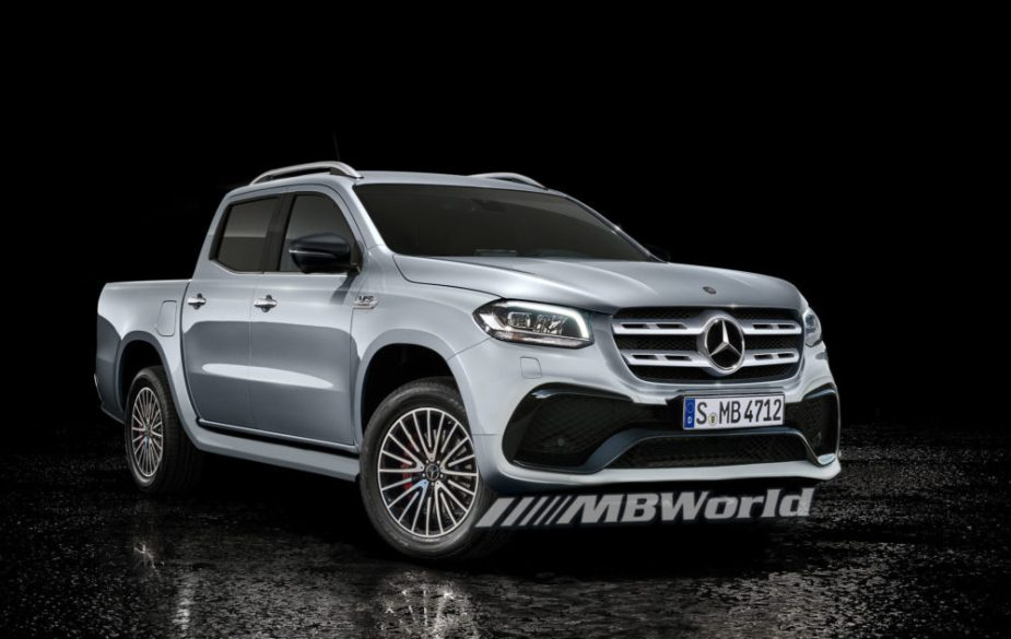 Sports pick-up with 600 hp: Is this the Mercedes-AMG X-Class?