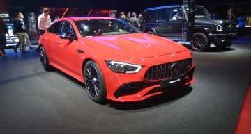 Live from Paris 2018 – The new Mercedes-AMG GT 4-door Coupe