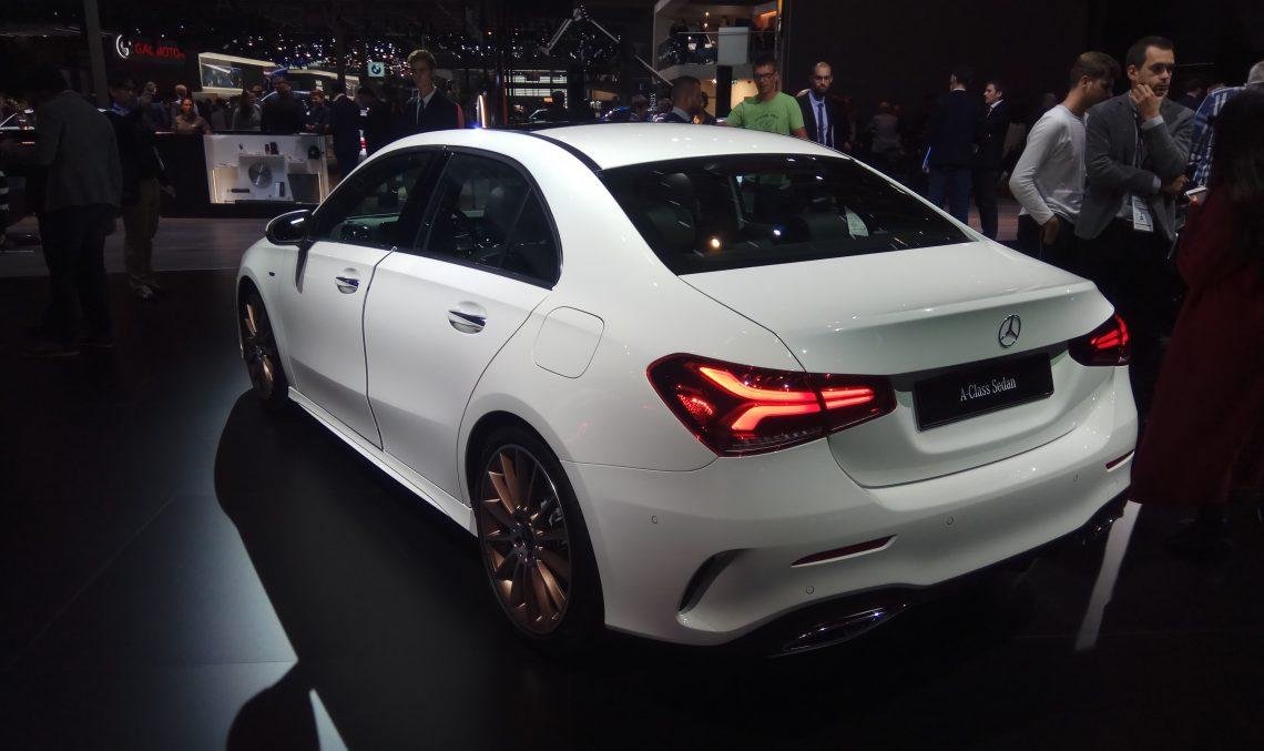 Live from Paris 2018 – The new Mercedes-Benz A-Class Sedan