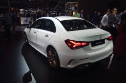 Live from Paris 2018 – The new Mercedes-Benz A-Class Sedan