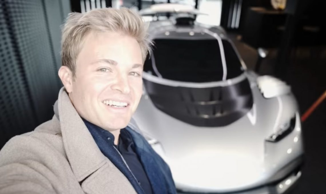Nico Rosberg gives us a taste of his future Mercedes-AMG One hypercar (video)