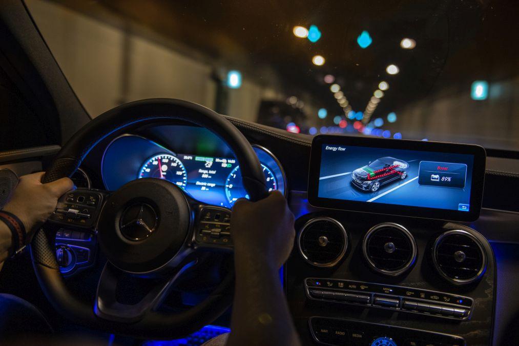 test drive Mercedes C 300 de