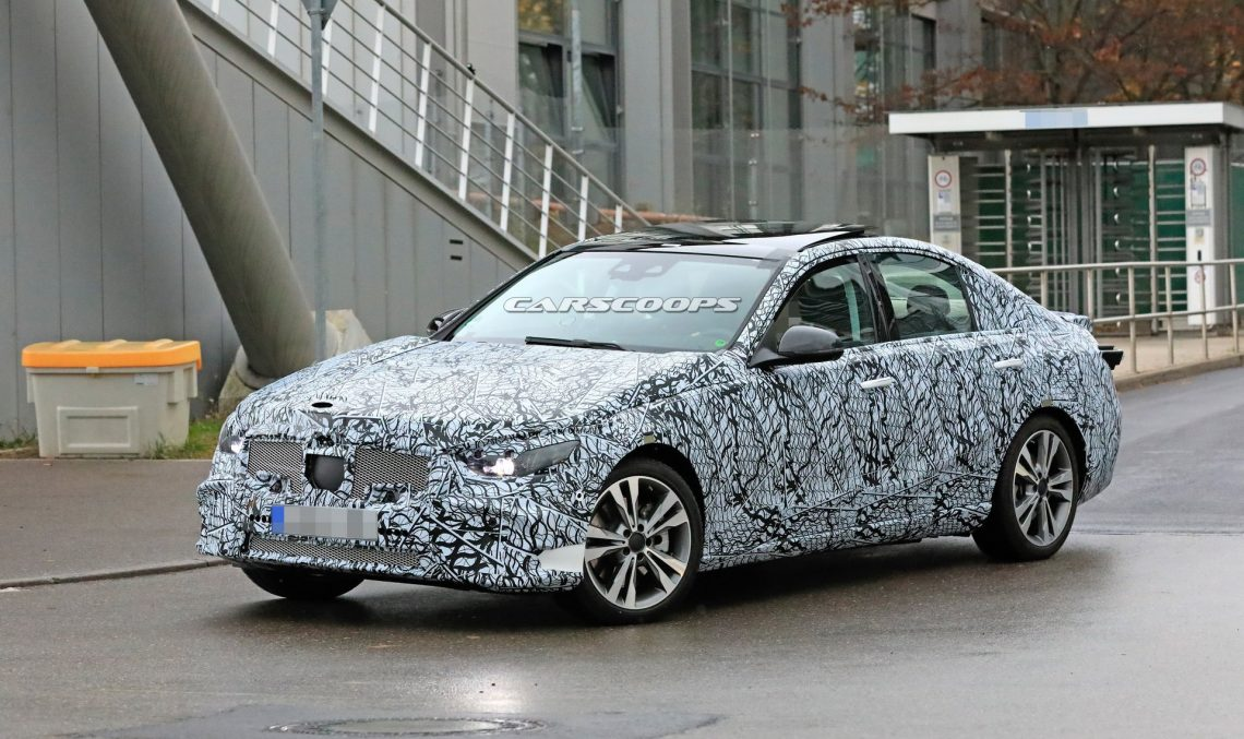 Scoop: All-new 2020 Mercedes C-Class caught for the first time