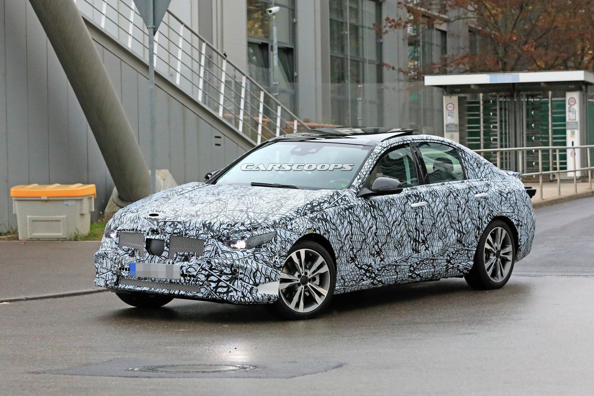 scoop  all-new 2020 mercedes c-class caught for the first time
