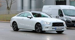 Mercedes E-Class Coupe gets new face – first pics