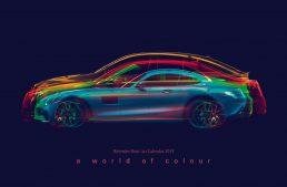 Mercedes-Benz 2019 Passenger Cars Calendar – A different car every month