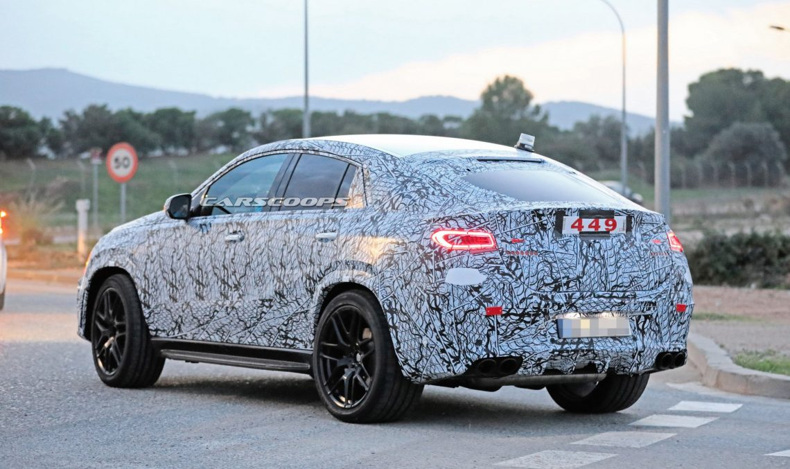 2020 Mercedes-Benz GLE Coupe reveals its sexy looks