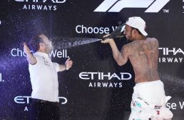 Lewis Hamilton wins the Abu Dhabi Grand Prix after being kidnapped