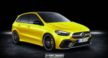 Could this be the hot new Mercedes-AMG B-Class super MPV?