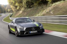 Mercedes-AMG GT R PRO circles the Nürburgring Nordschleife in little over 7 minutes