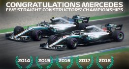 Mercedes-AMG Petronas Motorsport gets F1 World Championship title again