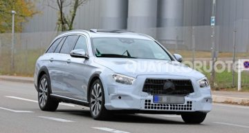 The future Mercedes-Benz E-Class station wagon is out testing